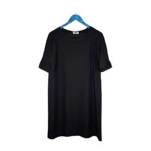 Sonia by Sonia Rykiel Semi Sheer Black Mini Dress